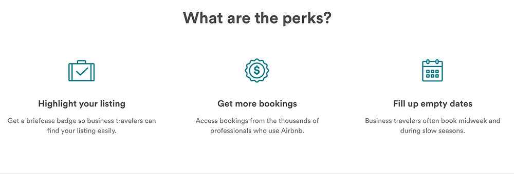 Business Travel Ready Perks from Airbnb.com