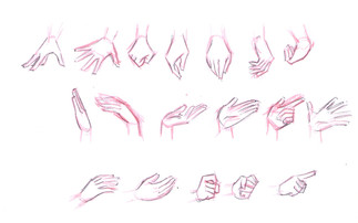 Character Hand study