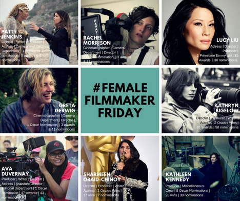 #FemaleFilmmakerFriday
