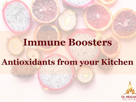 Immune Boosters - From Your Kitchen or Pantry