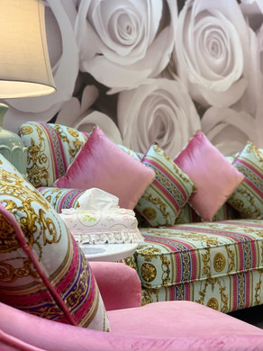 Waiting Area Details Belle Donne Beauty Clinic at Dr Mulham Polyclinic in Dubai UAE.JPG