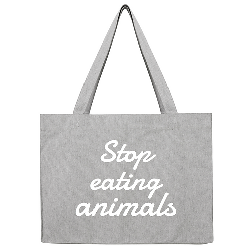Stop Eating Animals Bag