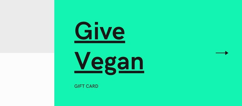 Give Vegan App