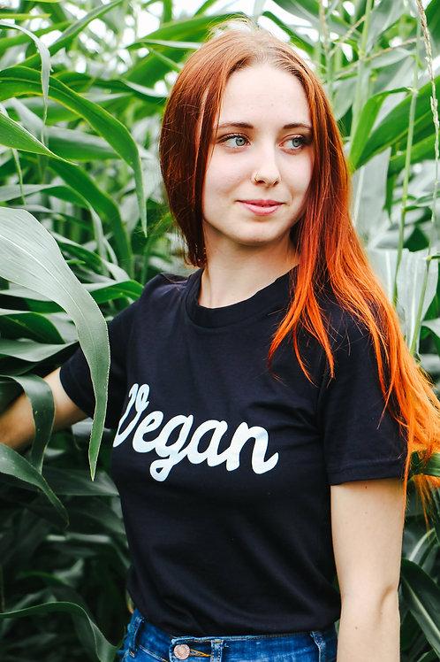 Vegan - Tshirt (Black)