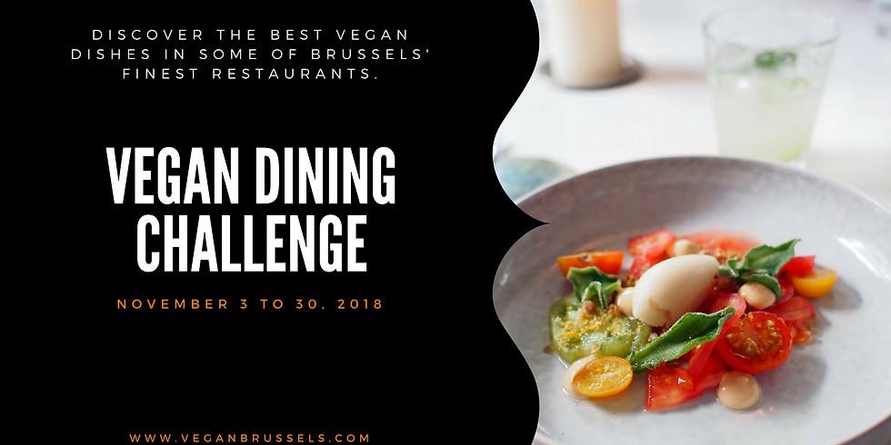 Vegan Dining Challenge 2018
