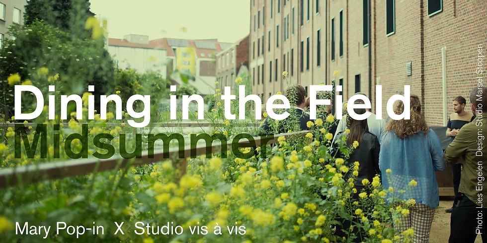 Mary Pop In Dining in the Field / Midsummer
