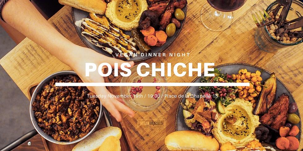 Pois Chiche - Vegan Dinner Night