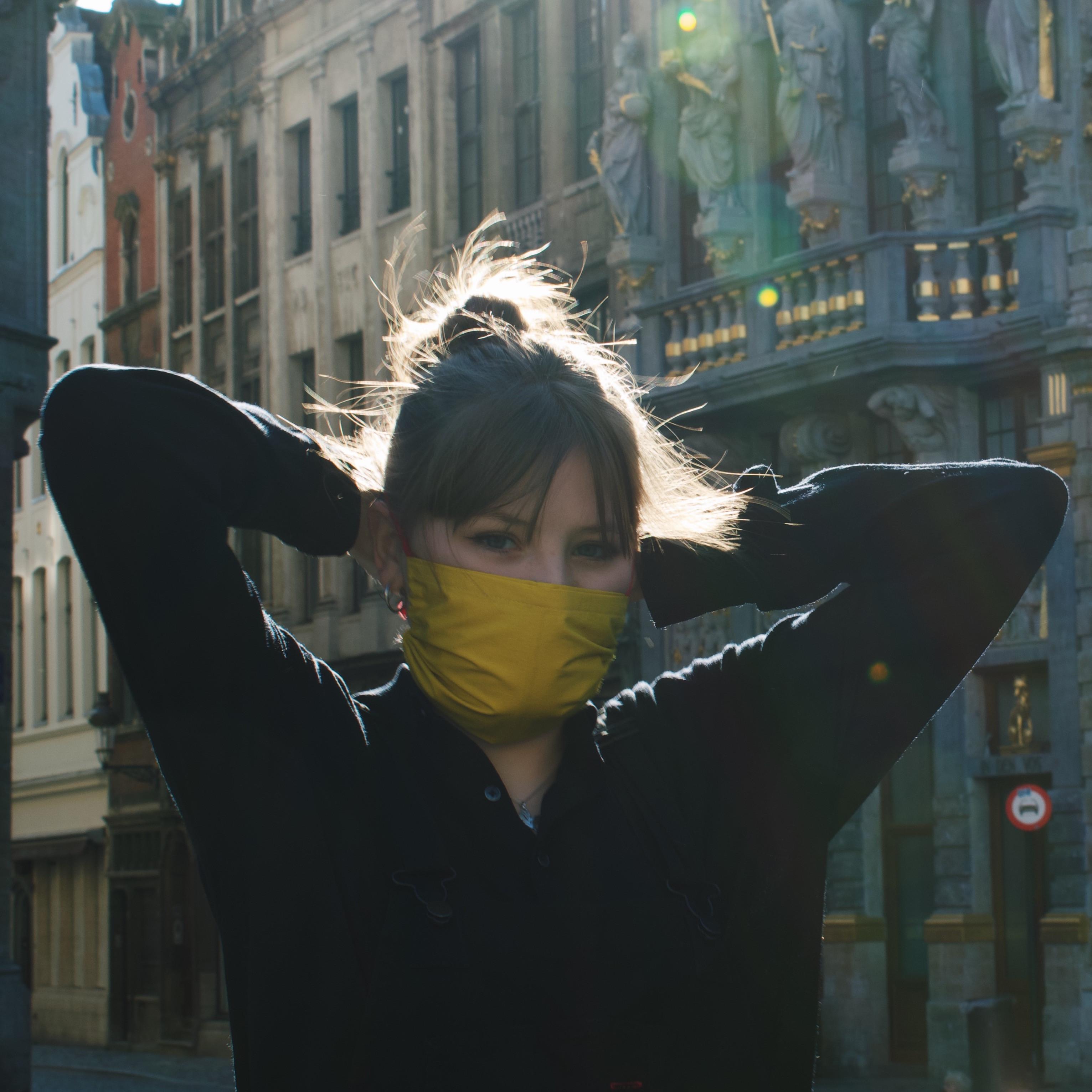Pick up mask