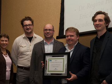 """Martin Summers and Point of Departure Team Awarded """"2015 University of KentuckySustainability"""