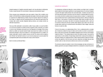 """""""Disruptive Continuity [Explorations in-Form]"""" accepted to TxA Emerging Design + Technolog"""