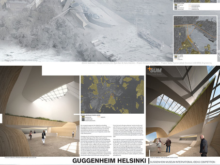 """Guggenheim Helsinki"" Selected for Inclusion in International Exhibition 