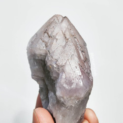 Canadian White Tip Auralite Amethyst