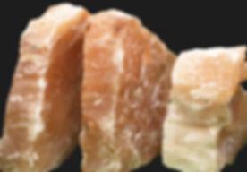 peach selenite rough chunks.jpg