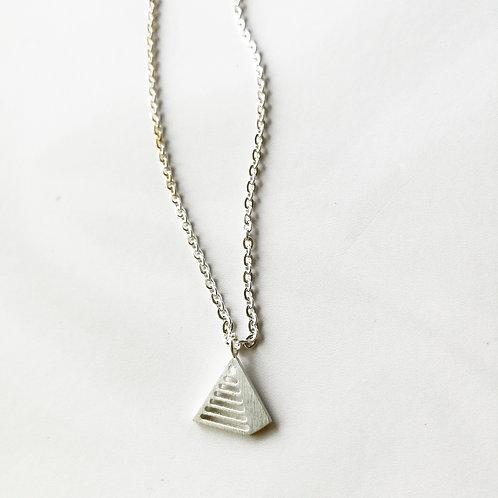 pyramid -silver-