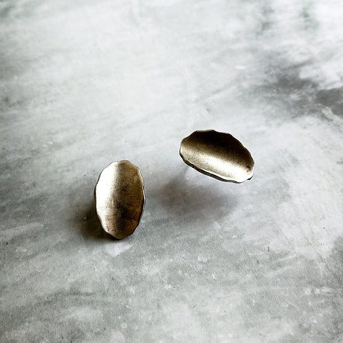 antique leaf - silver -