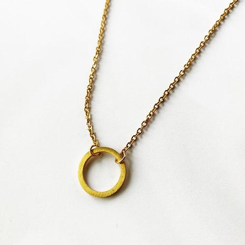 simple circle -gold-