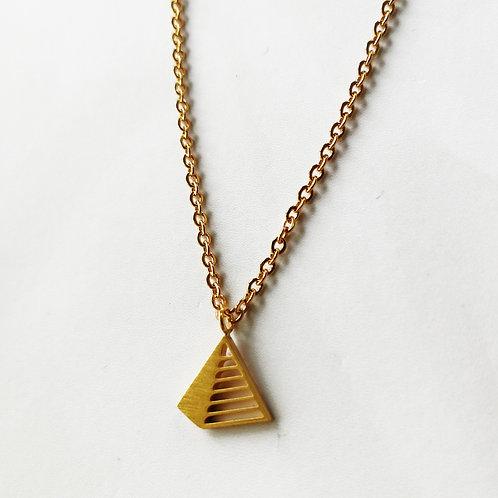 pyramid -gold-