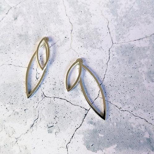 W leaf -silver-