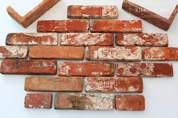плитка из старинного кирпича лофт