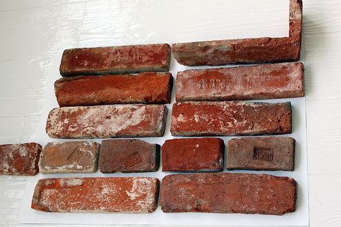 Плитка из московского старинного кирпича (ложок)
