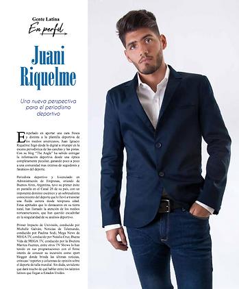 Juani Riquelme. Una nueva perspectiva pa