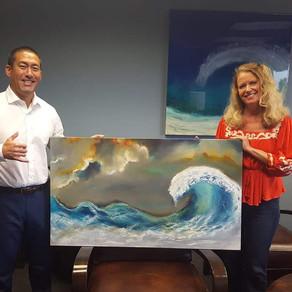 Hanapepe Mayor, Derek S. K. Kawakami, Features Original Art by Jan Hashi