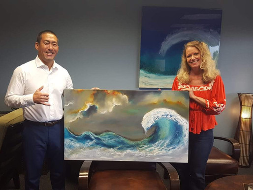 Hanapepe Mayor, Derek S. K. Kawakami, Features Original Art by Jan Hashi