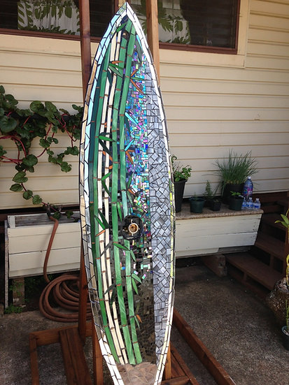 Bamboo Shower Board Full Length