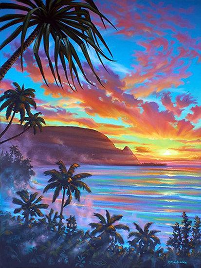 Sunset Bali Hai