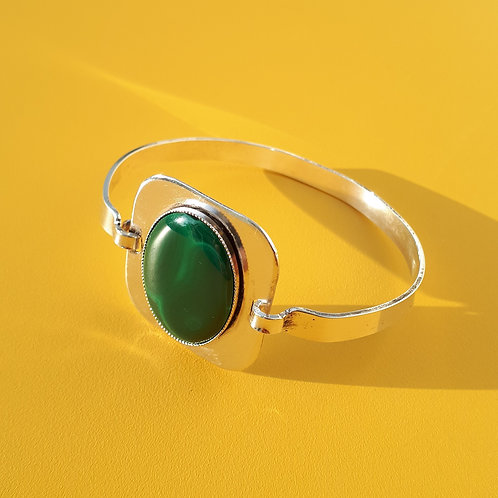Le rond (agate verte)
