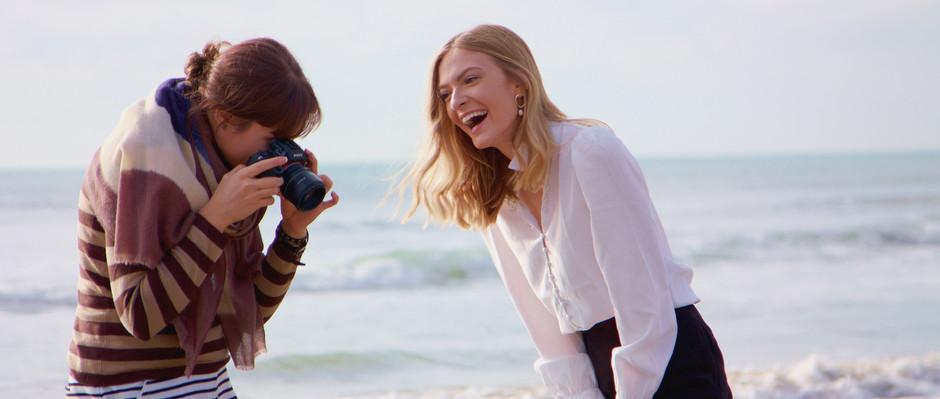 Comment un photoshoot personnalisé de type portrait se déroule avec Charlotte…