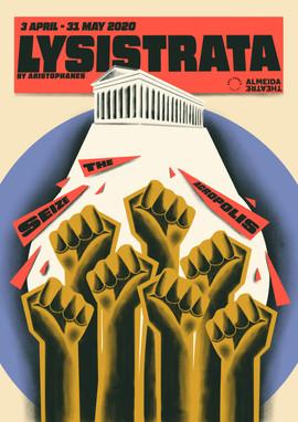 Theatre Posters - Lysistrata