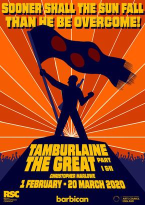 Theatre Poster - Tamburlaine