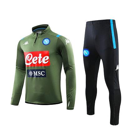 Tuta Training Napoli - Green/Black
