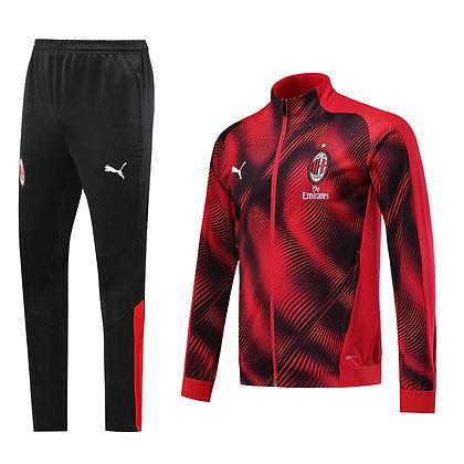 Tuta Rappresentanza Bambino Milan - Red/Black