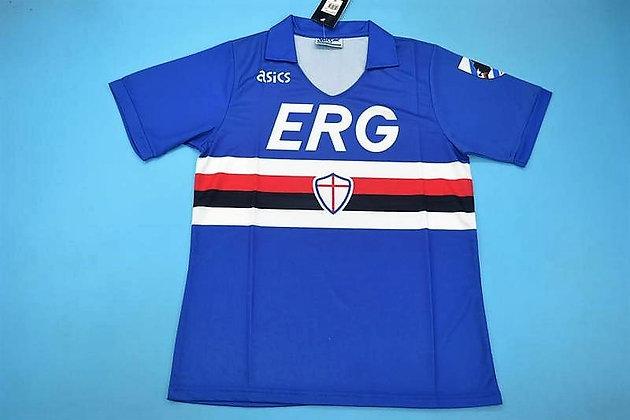 Divisa Storica Sampdoria Home - Scudetto 90/91