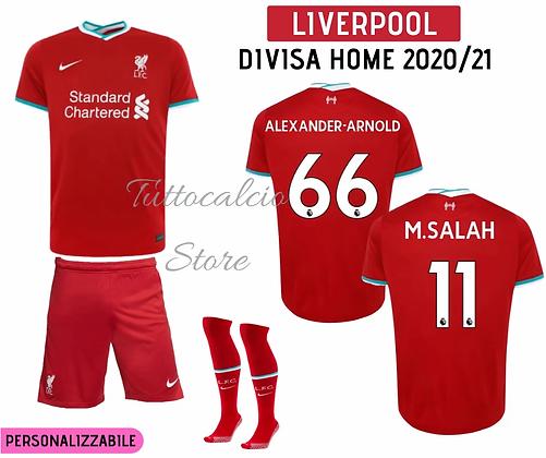 Divisa Home Bambino Liverpool 20/21