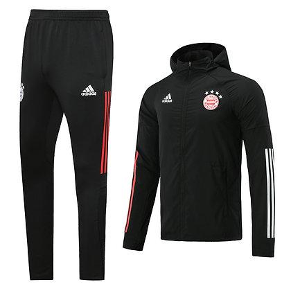 Set Antivento Bayern Monaco 2021 - Black
