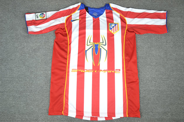 Divisa Storica Atletico Madrid Home 04-05