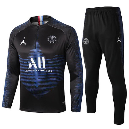 Tuta Training PSG - Black/Blue