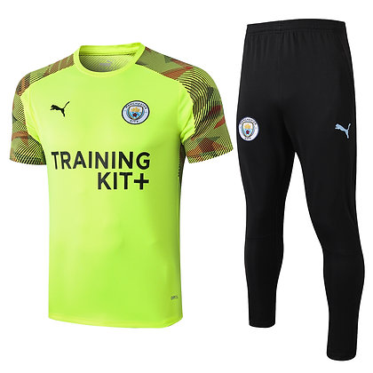 Set Training Manchester City - Fluo/Black