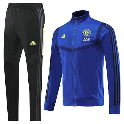 Tuta Rappresentanza Bambino Manchester United - Black/Blue