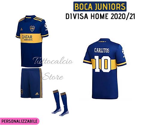 Divisa Home Boca Juniors - 20/21