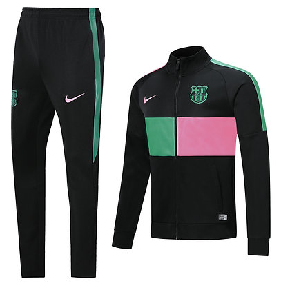 Tuta Edizione Limitata - Barcellona - Green/Pink