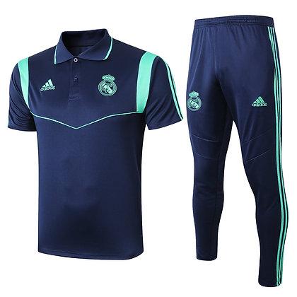 Set Polo Real Madrid - Blue