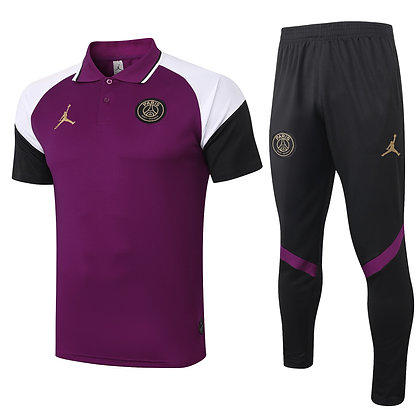 Set Polo PSG Jordan - *Grande Lusso* - Purple/Black