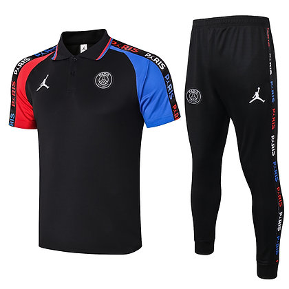 Set Polo PSG Jordan - *Sauvage* - Black