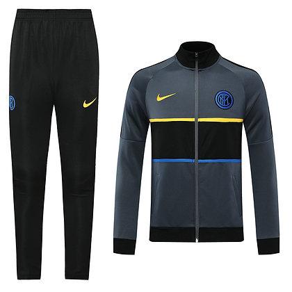 Tuta Rappresentanza Inter 2021 - Gray/Black