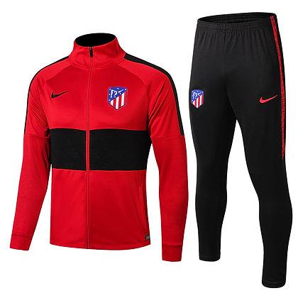 Tuta Rappresentanza Bambino Atletico Madrid - Red/Black