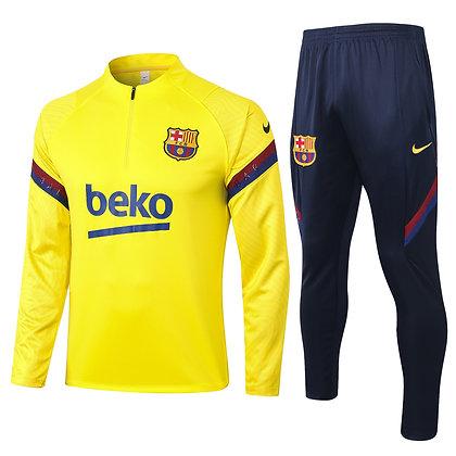 Tuta Training Barcellona 2021 - Yellow